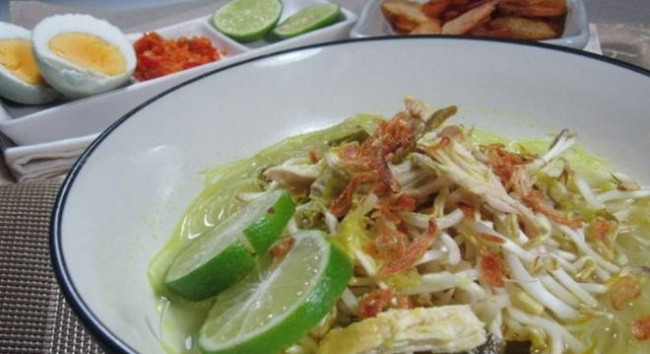 Resep Soto Ayam Madura