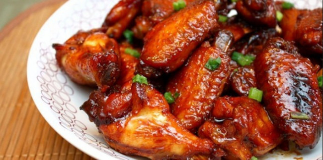Chicken wings resep